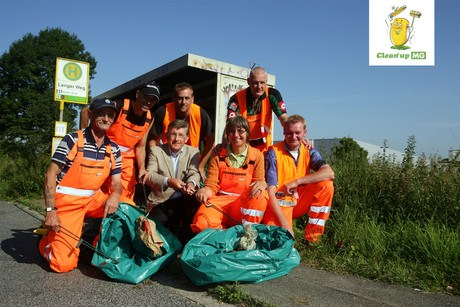 Aktionen von Clean up MG